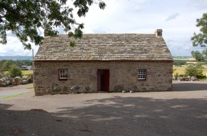 The cottage as it is today fully restored