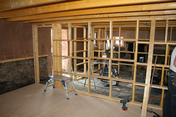 Interior framing