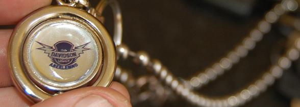Davidson Legacy key ring